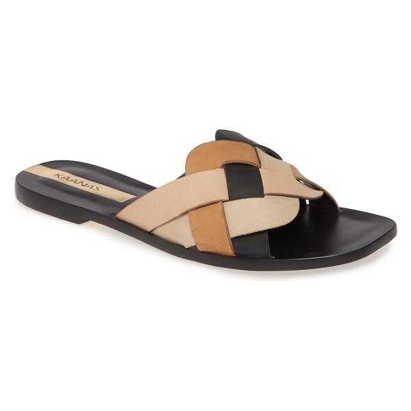 カーナス レディース サンダル シューズ Kaanas Gramado Slide Sandal (Women) Black