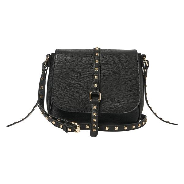 アーバンオリジナルス レディース ハンドバッグ バッグ Urban Originals Nash Vegan Leather Flap Bag Black