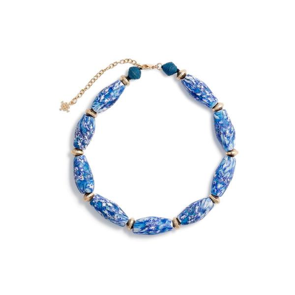 アコラ レディース ネックレス・チョーカー・ペンダントトップ アクセサリー Akola Staement Choker Necklace Blue Multi