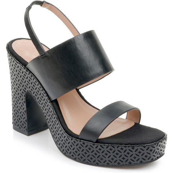 ザックポーゼン レディース サンダル シューズ ZAC Zac Posen Virginia Platform Sandal (Women) Black Leather