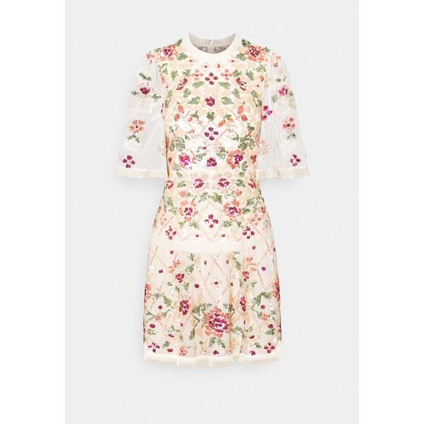 豪奢な ニードルアンドスレッド トップス レディース ワンピース DRESS トップス TRELLIS ROSE MINI DRESS - - Cocktail dress/ Party dress - champagne, ハンカチギフトhandkerchief style:590397d9 --- essexadvan.co.uk