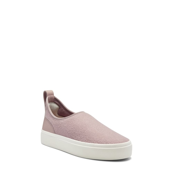 ラッキーブランド レディース スニーカー シューズ Tauve Platform Slip-On Sneaker Adobe Rose Wool