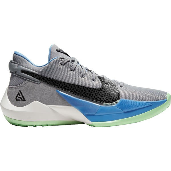 【新品】 ナイキ Basketball メンズ バスケットボール スポーツ Gry/Blk/Blue Nike Zoom 2 Freak 2 Basketball Shoes Gry/Blk/Blue, 【ふるさと割】:230ba1c1 --- kventurepartners.sakura.ne.jp