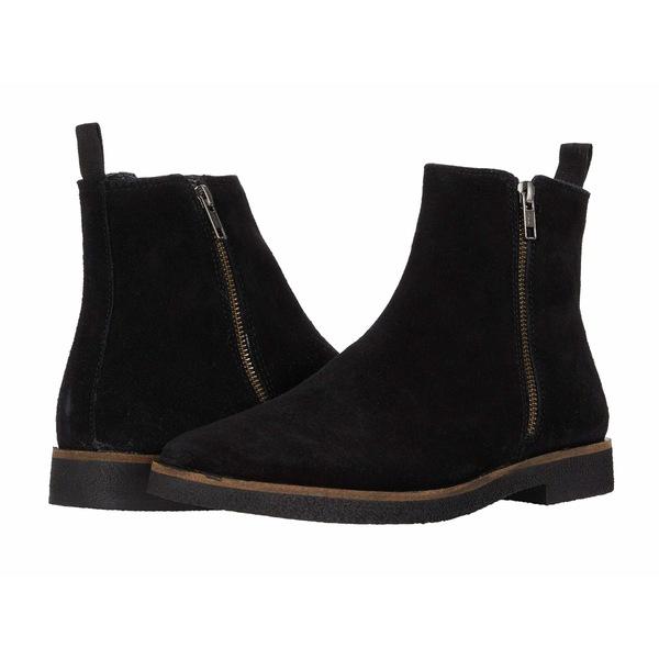ウォークロンドン メンズ ブーツ&レインブーツ シューズ Hornchurch Zip Boot Black Suede