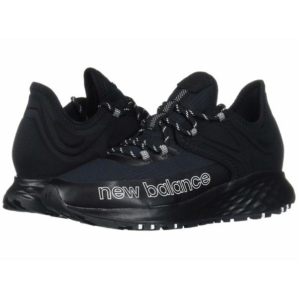 ニューバランス レディース スニーカー シューズ Fresh Foam Roav Trail Black/White Textile