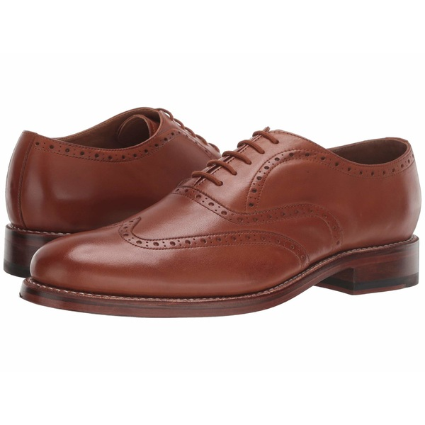 ボストニアン メンズ ドレスシューズ シューズ Rhodes Brogue Tan Leather