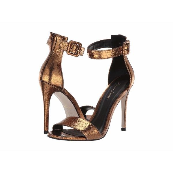 マッシモマッテエロ レディース ヒール シューズ Rihanna Slingback Sandal Metallic Bronze