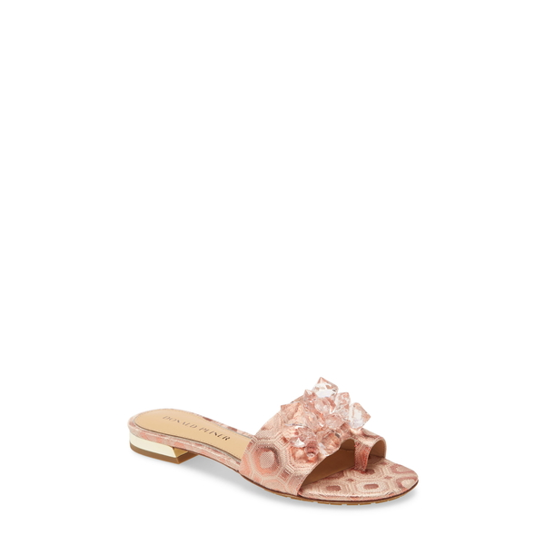 ドナルドプリネール レディース サンダル シューズ Frances Slide Sandal Salmon Fabric