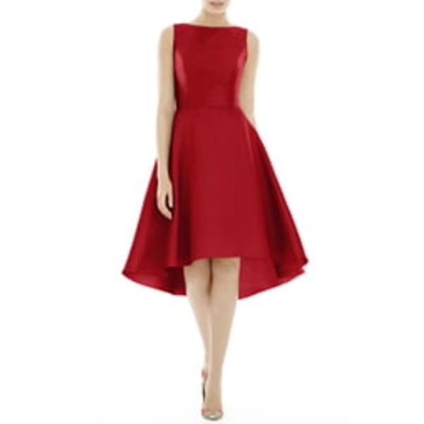 アルフレッド レディース ワンピース トップス High/Low Cocktail Dress Garnet