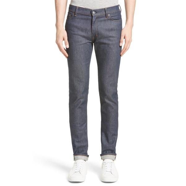 アクネ ストゥディオズ メンズ デニムパンツ ボトムス North Slim Fit Jeans Indigo