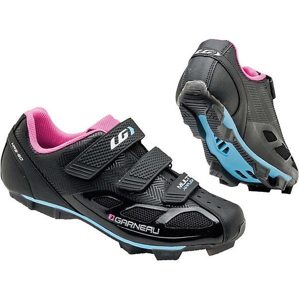 イルスガーナー レディース サイクリング スポーツ Louis Garneau Women's Multi Air Flex Shoe Black / Pink