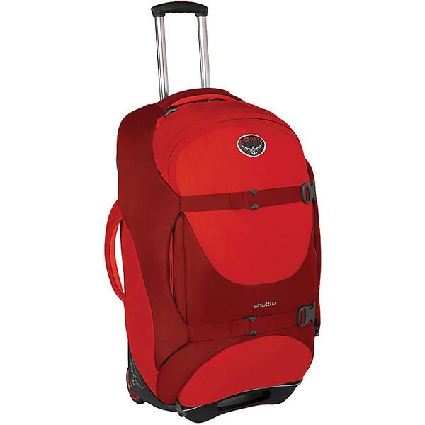 オスプレー レディース ボストンバッグ バッグ Osprey Shuttle 100L/30IN Travel Pack Diablo Red