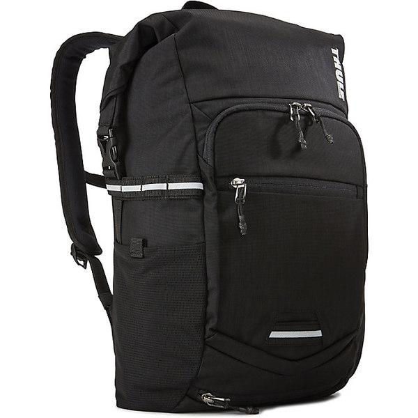 スリー メンズ バックパック・リュックサック バッグ Thule Pack'n Pedal Commuter Backpack Black