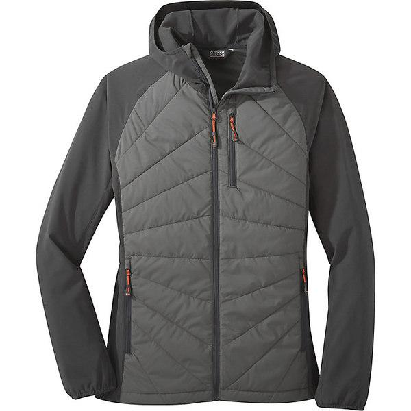 アウトドアリサーチ レディース ジャケット&ブルゾン アウター Outdoor Research Women's Refuge Hybrid Hooded Jacket Pewter/Storm