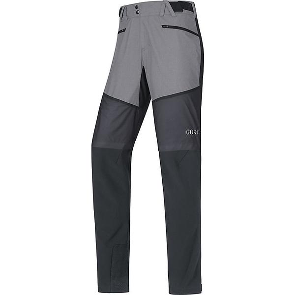 ゴアウェア メンズ ハイキング スポーツ Gore Wear Men's H5 Gore Windstopper Hybrid Pant Black / Terra Grey