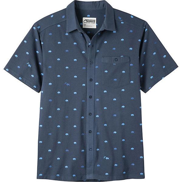 マウンテンカーキス メンズ シャツ トップス Mountain Khakis Men's Tatanka SS Shirt Twilight Print