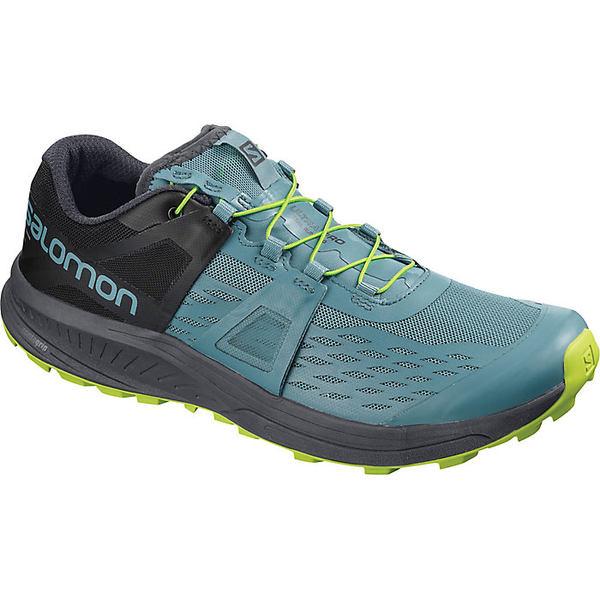 サロモン メンズ ランニング スポーツ Salomon Men's Ultra Pro Shoe Bluestone / Ebony / Acid Lime