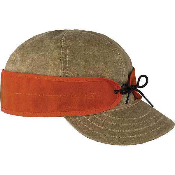 ストーミー クローマー レディース 帽子 アクセサリー Stormy Kromer Waxed Cotton Cap Tan/Blaze