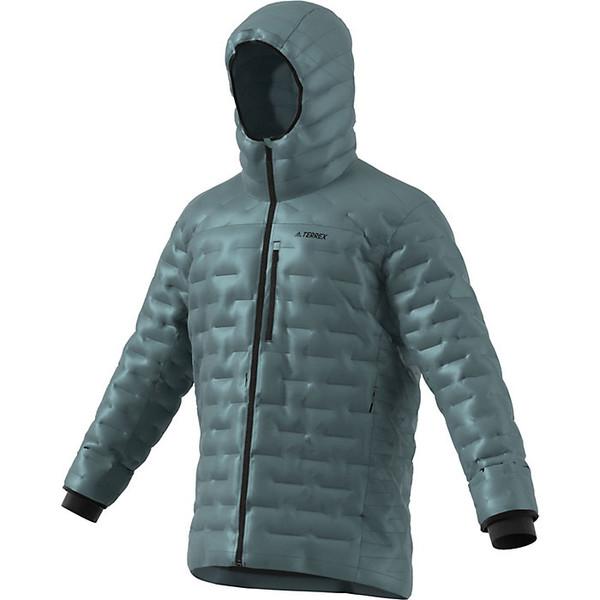 アディダス メンズ ジャケット&ブルゾン アウター Adidas Men's Climaheat Jacket Raw Green