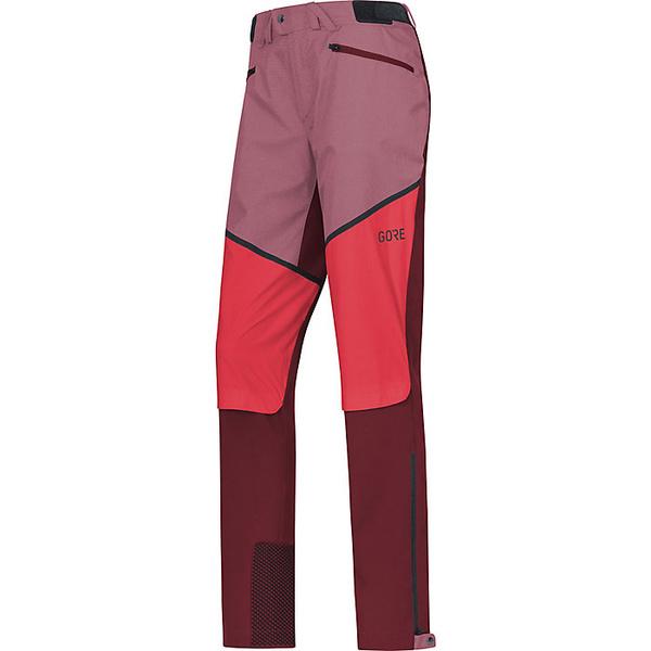 ゴアウェア レディース ハイキング スポーツ Gore Wear H5 Women's Gore Windstopper Hybrid Pant Chestnut Red / Hibiscus Pink