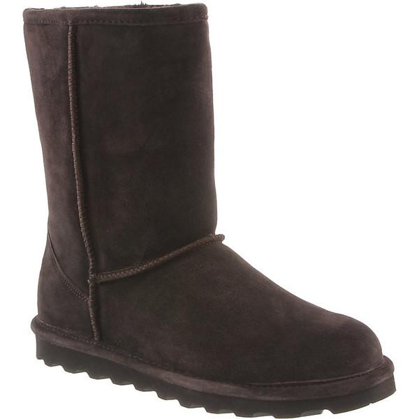 ベアパウ レディース ブーツ&レインブーツ シューズ Bearpaw Women's Elle Short Boot Chocolate II