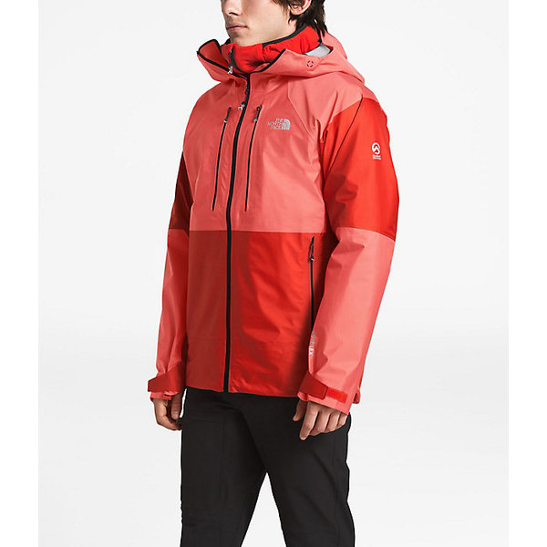 ノースフェイス メンズ ジャケット&ブルゾン アウター The North Face Men's Summit L5 FuseForm GTX C-KNIT Jacket Fiery Red / High Rise Grey Fuse