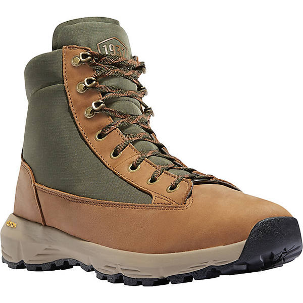 ダナー メンズ ハイキング スポーツ Danner Men's Explorer 650 Full Grain 6IN Boot Brown / Green