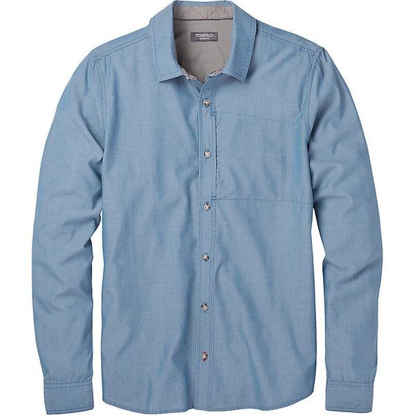 トードアンドコー メンズ シャツ トップス Toad & Co Men's Cutler LS Shirt Bright Indigo