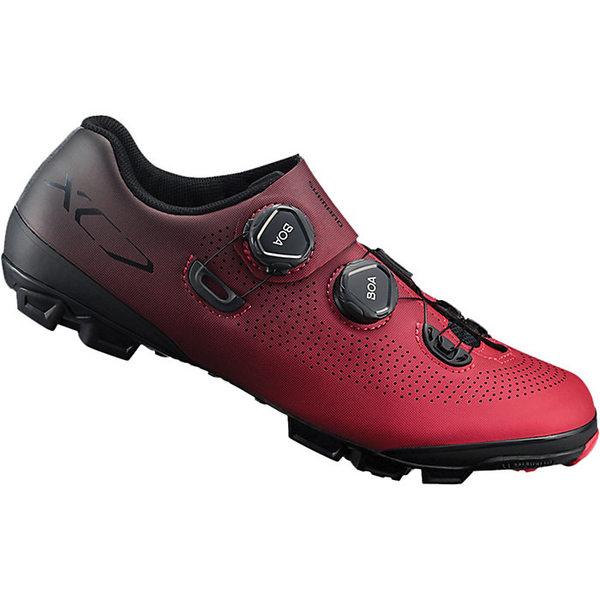 シマノ メンズ サイクリング スポーツ Shimano Men's XC7 Bike Shoe Red