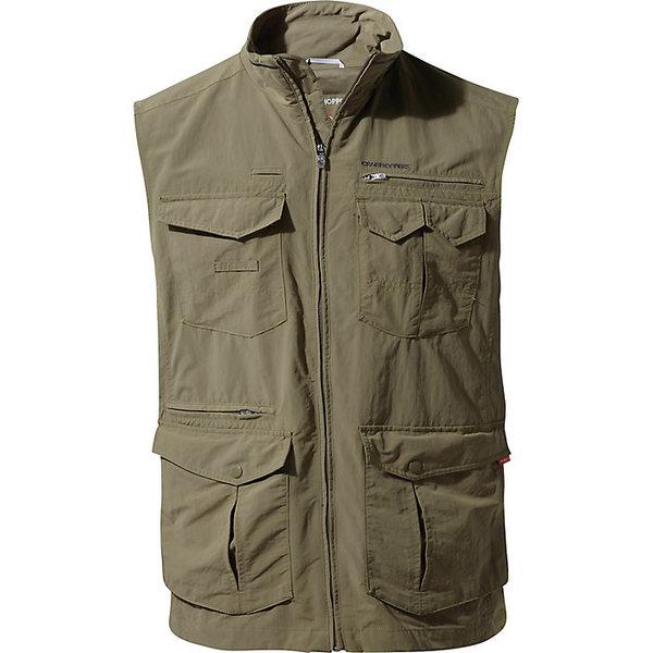 クラッグホッパーズ メンズ ジャケット&ブルゾン アウター Craghoppers Men's NosiLife Adventure Gilet II Vest Pebble