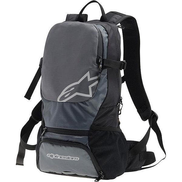 アルパインスターズ メンズ バックパック・リュックサック バッグ Alpine Stars Faster Backpack Black / Steel Grey