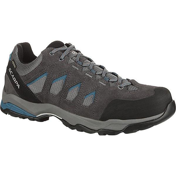 スカルパ メンズ ハイキング スポーツ Scarpa Men's Moraine GTX Shoe Grey/Lake Blue