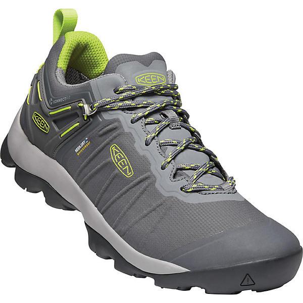 キーン メンズ ハイキング スポーツ Keen Men's Venture Waterproof Shoe Magnet / Chartreuse