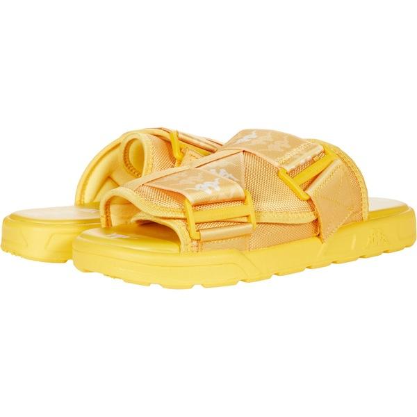 カッパ メンズ シューズ サンダル Yellow/Light Yellow/White 全商品無料サイズ交換 カッパ メンズ サンダル シューズ 222 Banda Mitel 1 Yellow/Light Yellow/White