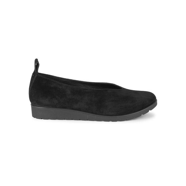 エイリーンフィッシャー レディース サンダル シューズ Humor Leather Flats Black