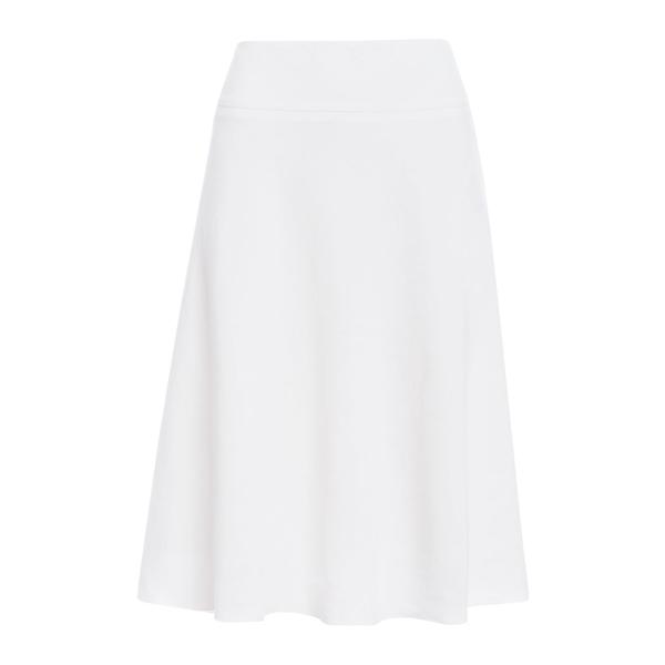 ニックプラスゾーイ レディース スカート ボトムス Flared Midi Skirt White