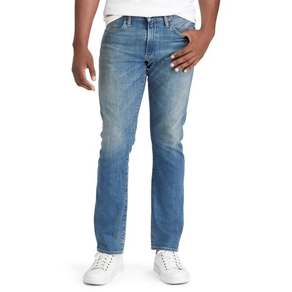 ラルフローレン メンズ デニムパンツ ボトムス Varick Slim Straight Jeans Blue