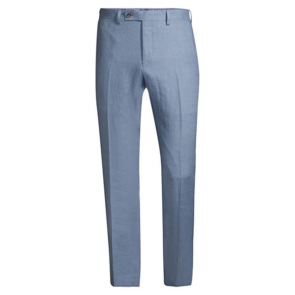 ラルフローレン メンズ カジュアルパンツ ボトムス Classic-Fit Linen Dress Pants Light Blue