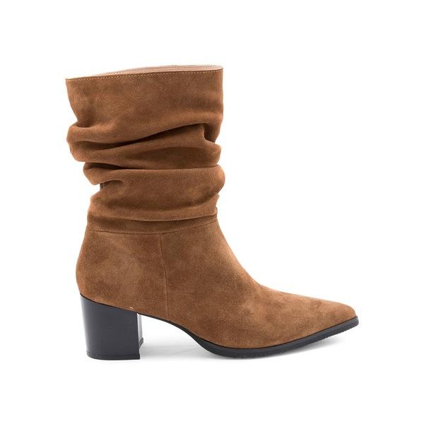 ブロンド レディース パンプス シューズ Tarrah Waterproof Suede Slouch Boots Camel