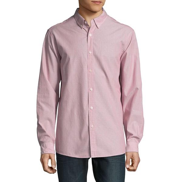 マイケルコース メンズ シャツ トップス Long-Sleeve Shirt Ruby Red