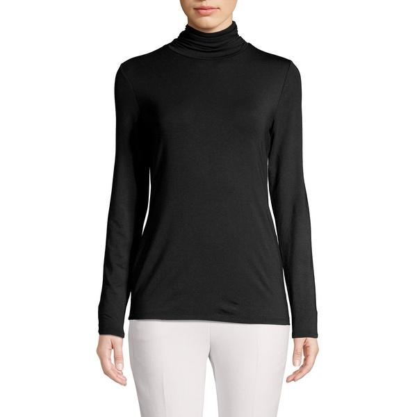 コンテキスト レディース ニット&セーター アウター Mock Neck Knit Sweater Black