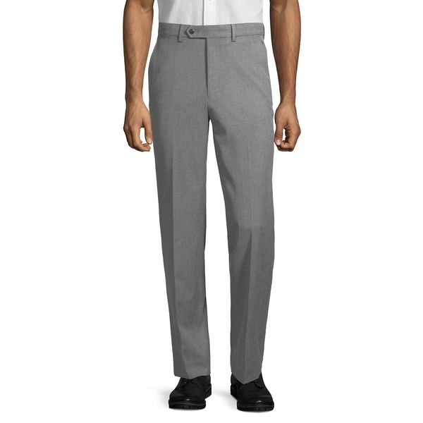 ナウティカ メンズ カジュアルパンツ ボトムス Zip-Fly Flat-Front Pants Grey