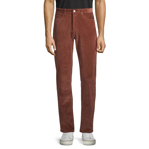 ブラック・ブラウン1826 メンズ カジュアルパンツ ボトムス Corduroy 5-Pocket Pants Cappuccino