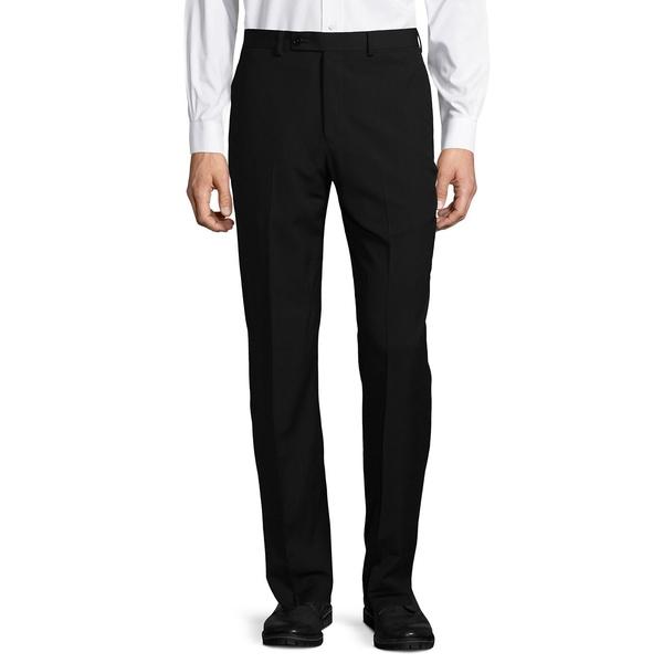 カルバンクライン メンズ カジュアルパンツ ボトムス Slim-Fit Solid Dress Pants Black