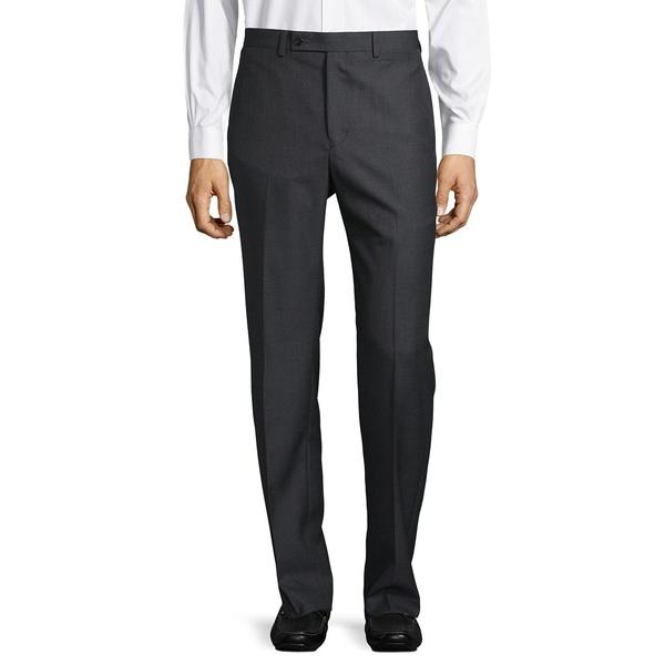 カルバンクライン メンズ カジュアルパンツ ボトムス Slim-Fit Solid Dress Pants Medium Grey