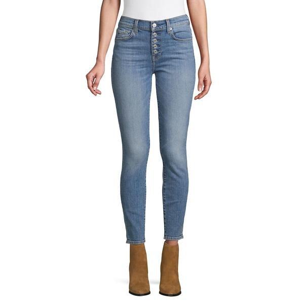 7フォーオールマンカインド レディース デニムパンツ ボトムス High-Waist Ankle SkinnyJeans Vintage Sloan