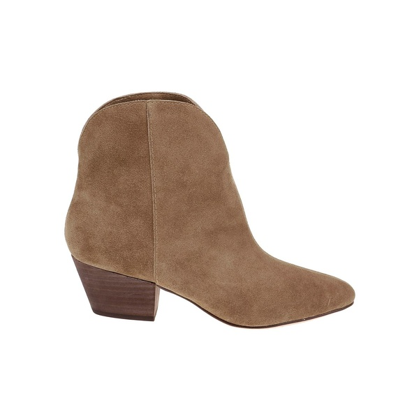 スプレンディット レディース パンプス シューズ Paige Leather Booties Brown Suede