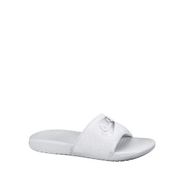 ナイキ レディース サンダル シューズ Women's Benassi Just Do It Slides White