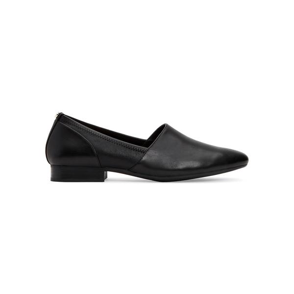 タリンローズ レディース サンダル シューズ Bettina Water-Resistant Leather Loafers Black