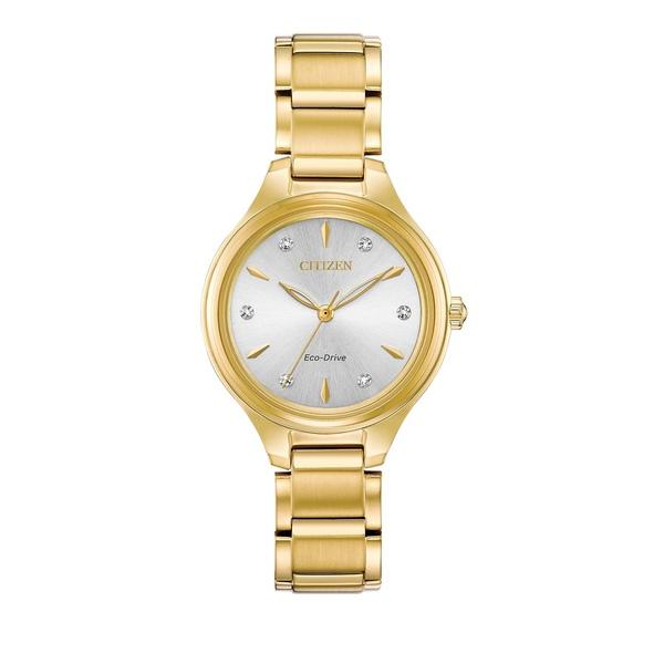 シチズン レディース 腕時計 アクセサリー Corso Stainless Steel Bracelet Watch Gold